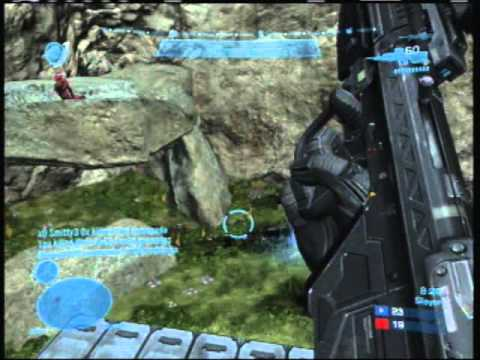 Halo Reach Multiplayer Gameplay Commentary Tips On Cliffhanger