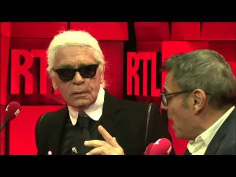 Karl Lagerfeld & Jean-Michel Cohen : L'invité du jour du 01/01/2014 dans A La Bonne Heure