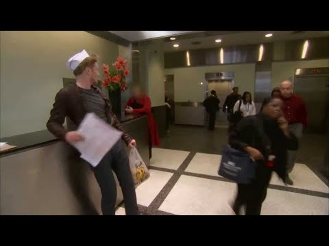 Conan Delivers Chinese Food in NYC