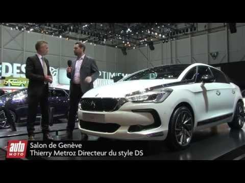 Nouvelle DS 5 - Salon de Genève 2015 : présentation live AutoMoto