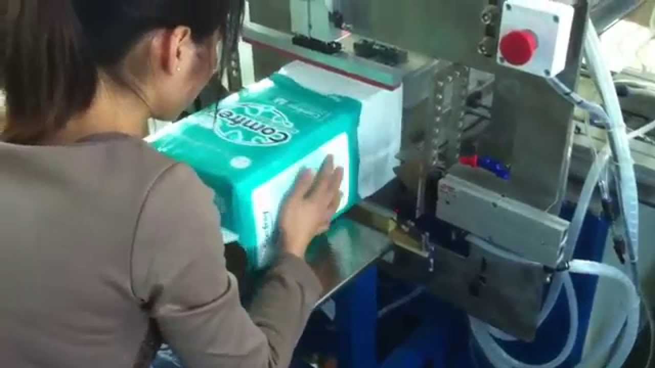 adult diapers packing machine