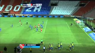 Gol de Rodríguez. Godoy Cruz 1 - Independiente 2. Fecha 7. Primera División 2015. FPT.