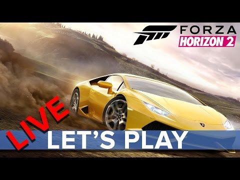Forza Horizon 2 (Xbox One) - Eurogamer Let's Play Multiplayer LIVE