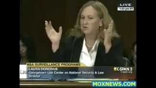 "NSA SPYING ON ALL AMERICANS, SENATE OVERSIGHT HEARING ""SCHOLARS PANEL"""
