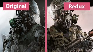 Metro 2033 - Original PC vs. Redux PC Graphics Comparison