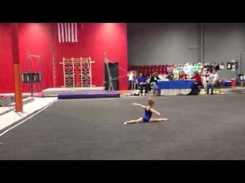 Cameron Tiny 5 Year Old Gymnast New Floor