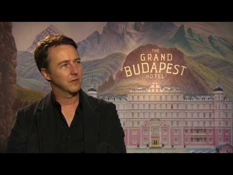 The Grand Budapest Hotel: Edward Norton Official Movie Interview