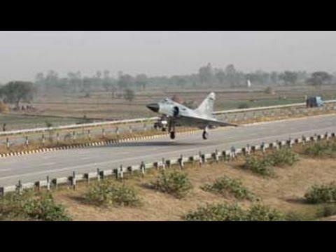 Mirage 2000 fighter jet test lands on Yamuna Expressway near Delhi as part of trials