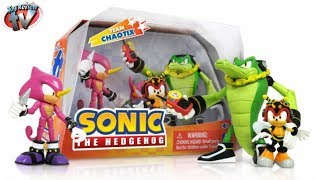 Sonic The Hedgehog Team Chaotix Figure Set Toy Review, Jazwares