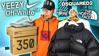 MIS MEJORES COMPRAS STREETWEAR!! (NIKE X Off White, Yeezy, Dsquared2, Stussy...)