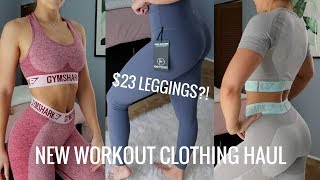 NEW WORKOUT GEAR | Try On, Review and More! $23 Leggings?!