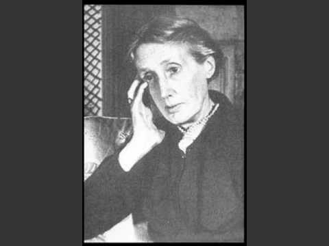 Virginia Woolf speaks !