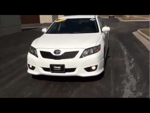 2011 Toyota Camry SE Sport Super White Excellence Cars Direct Naperville Chicago IL
