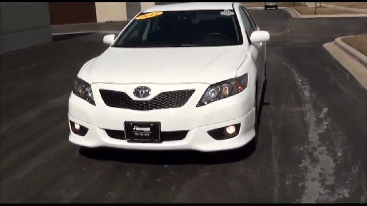 2011 Toyota Camry Se Sport Super White Excellence Cars
