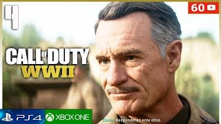 CALL OF DUTY WW2 Mision 4 Español Gameplay PS4 | Campaña Parte 4 (1080p 60fps)