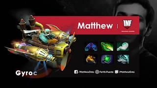 Matthew - Gyrocopter | Support (7.19b) | Dota 2 Pro Player