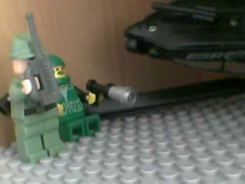 Black Hawk Down Crash Scene Lego Black Hawk Down