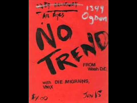 No Trend -  Mass Sterilization (live) 1995 - The Early Months