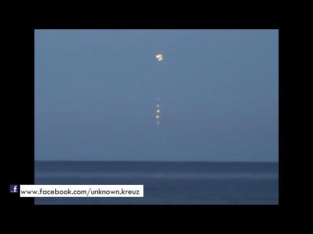 Ovni expulsa Osnis en el mar de Polonia | Septiembre 09 2014 | UFO sightings