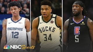 NBA Mid-Season Awards: Giannis leads MVP race, Morant leads rookie of the year | NBC Sports