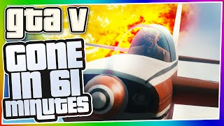 GTA 5 Online SPECIAL CHALLENGE - Emergency Landing! (Gone In 61 Minutes #1)
