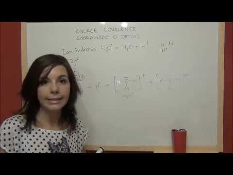 QUÍMICA Enlace químico - Enlace covalente coordinado o dativo
