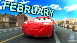 CARS Teaches Months of the Year | Learn English Months of Year