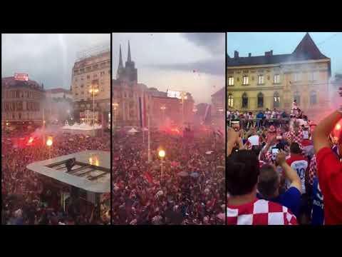 Croatian football team back home thumbnail