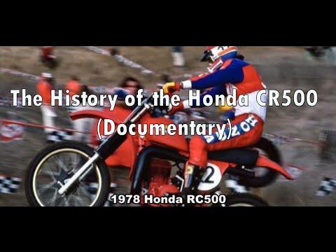 The History of the Honda CR500 (Documentary)