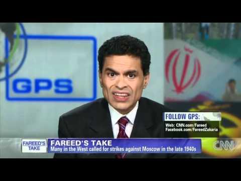 CNN´s Fareed Zakaria: Israel, don´t strike Iran