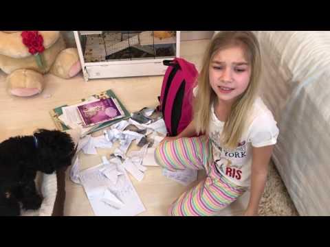 Barvina делает домашнее задание в школу. Что-то пошло не так.