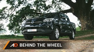 2019 SsangYong Musso - Behind the Wheel
