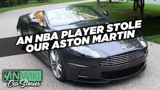 An NBA player stole our Aston Martin DBS