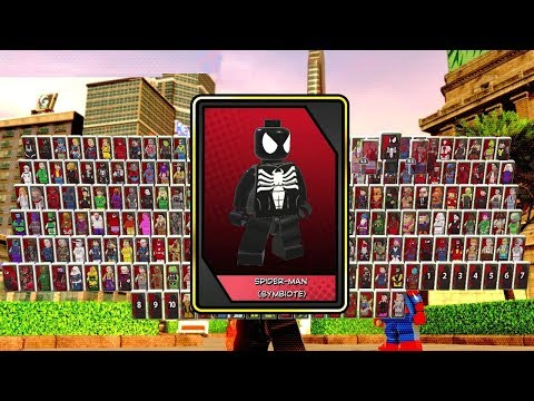 LEGO Marvel Super Heroes 2 - All Characters Unlocked + Showcased