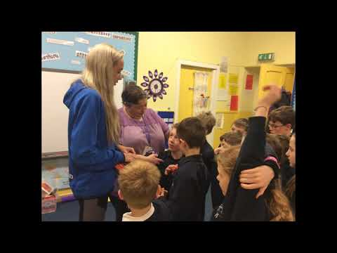 Oyne Primary School goes the distance with Olympian Eilish