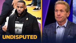 'LeBron James Load Managed' — Skip Bayless reacts to LeBron sitting out vs Denver | NBA | UNDISPUTED