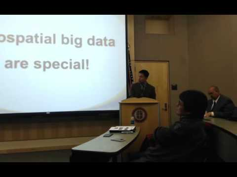 "CSC February Seminar 2016 : Shaowen Wang ""Big Data"""