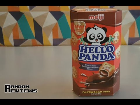 Hello Panda Biscuits With Chocolate Flavoured Filling - Random Reviews