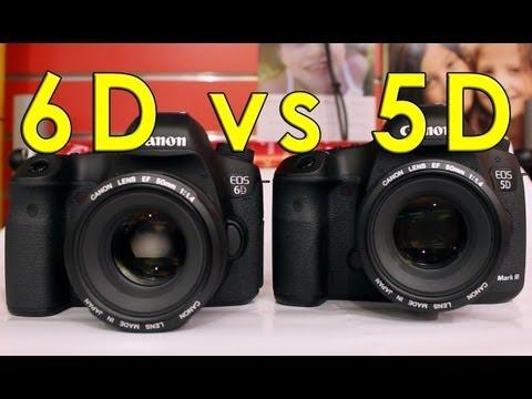 Canon 6D vs 5D Mark III