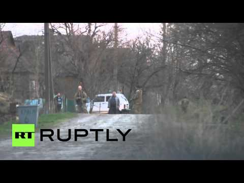 Ukraine: Helicopters rule the skies over crisis zone