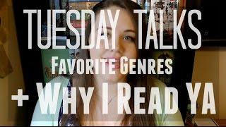 Favorite Genres + WHY I READ YA