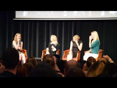 Q&A Jennifer Morrison, Victoria Smurfit and Georgina Haig   FT3 21 06 15