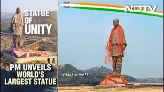 PM Unveils Sardar Patel's Statue Of Unity, World's Tallest
