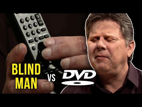 Blind Man vs. DVD Player Music Videos