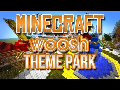 Minecraft - Woosh Games Theme Park!