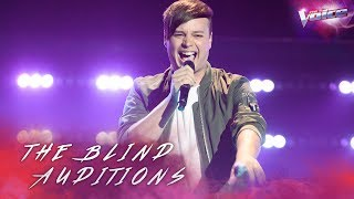 Blind Audition: Nathan Brake sings Jealous | The Voice Australia 2018
