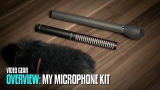 My Microphone kit for Videoproduction