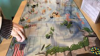 Conquest of the Pacific, a game turn.