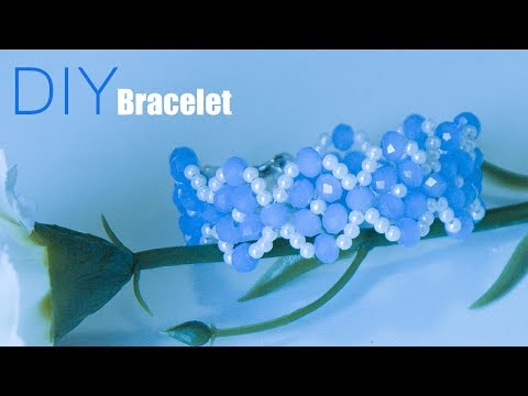 How to make  bracelets (easy) at home | DIY beaded bracelet | Handmade jewelry