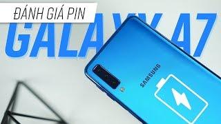Đánh giá chi tiết Pin Galaxy A7 2018: 3300mAh